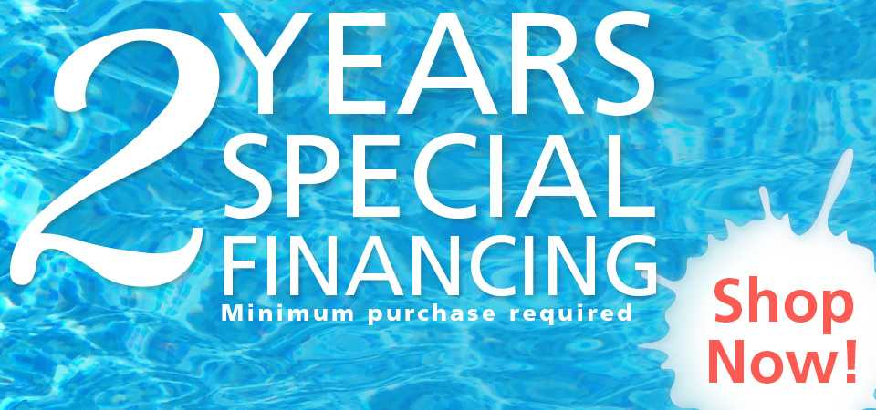 2 Years Special Financing