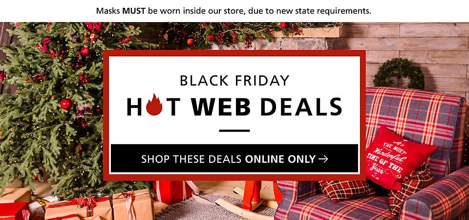 Black Friday Hot Web Deals
