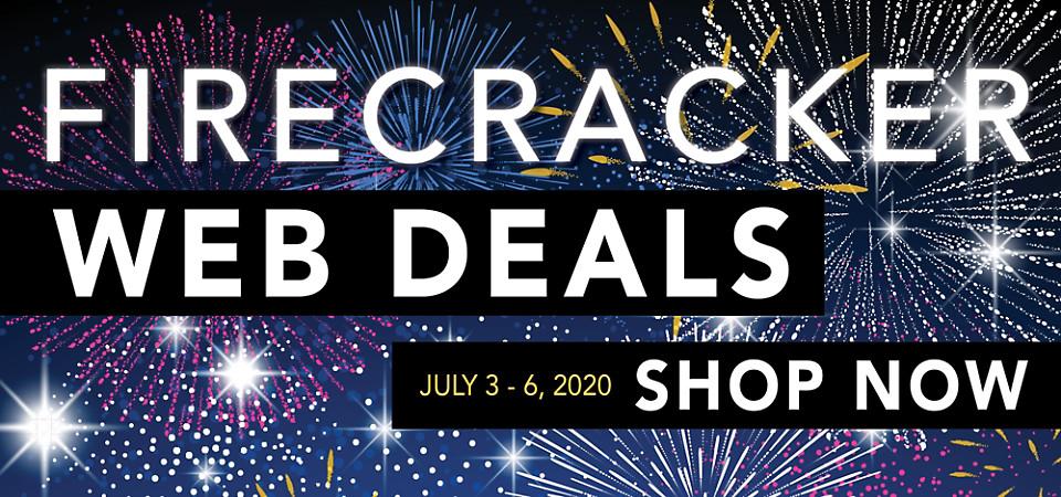 4th of July Firecracker Web Deals