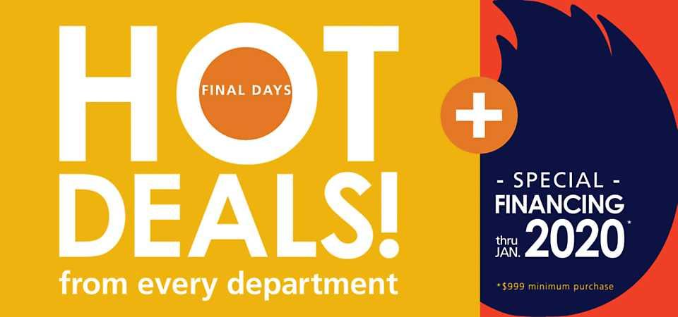 Hot Deals & Special Financing!