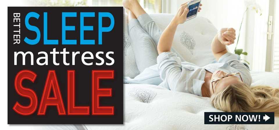Sleep Better Mattress Sale