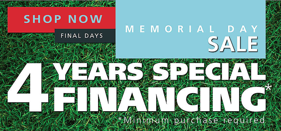 Memorial Day Special Financing!