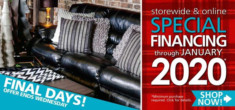 Special Financing Storewide U0026 Online!