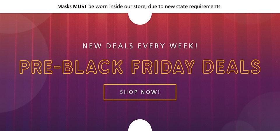 Pre-Holiday Deals