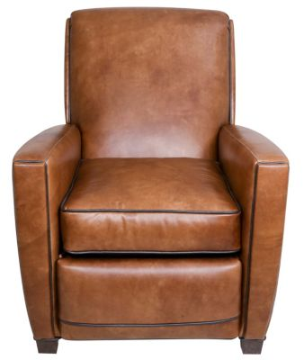 Huntington House 8118 Collection 100% Leather Push-Back Recliner