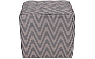 Huntington House 2017 Collection Cube Ottoman