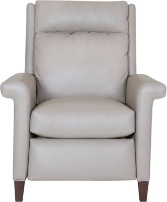 Huntington House Godfrey 100% Leather Press Back Recliner