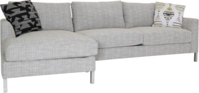 Huntington House 8014 Collection 2-Piece Sectional with Left-Facing