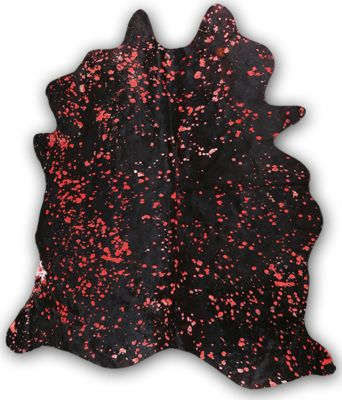 Industrias Magromer Raindrop Black and Red Cowhide