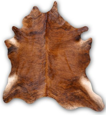 Industrias Magromer Exotic Light Brown Cowhide Rug