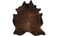 Industrias Magromer Exotic Dark Brown Cowhide Rug