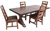 Intercon Taos 5-Piece Dining Set