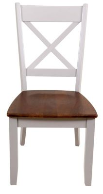 Intercon Small Space Living X-Back Side Chair