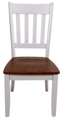 Intercon Small Space Living Slat-Back Side Chair