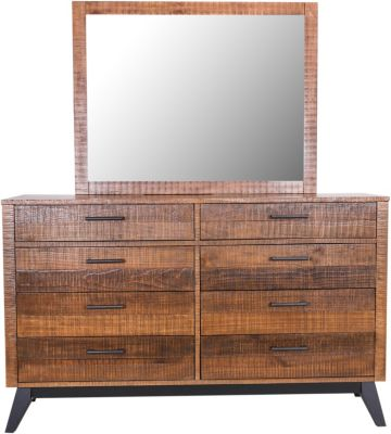 Intercon Urban Rustic Dresser With Mirror