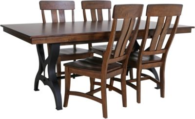 Intercon District Table with 4 Chairs