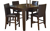 Intercon Kona Counter Table & 4 Stools