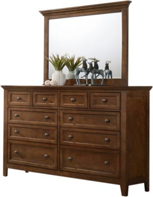 Intercon San Mateo Dresser with Mirror