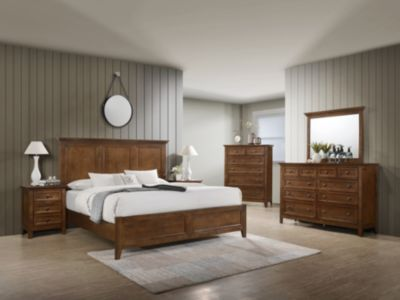 Intercon San Mateo King Bedroom Set