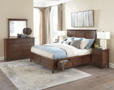 Intercon San Mateo Queen Storage Bedroom Set