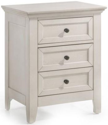 Intercon San Mateo White Nightstand