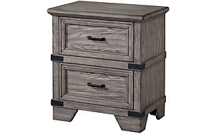 Intercon Forge Nightstand