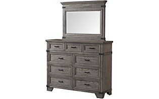 Intercon Forge Dresser with Mirror