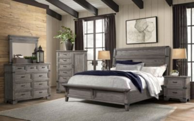 Intercon Forge 4-Piece King Bedroom Set