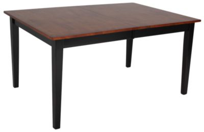 Intercon Arlington Two-Tone Leg Table
