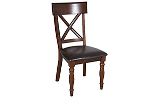 Intercon Kingston X-Back Side Chair