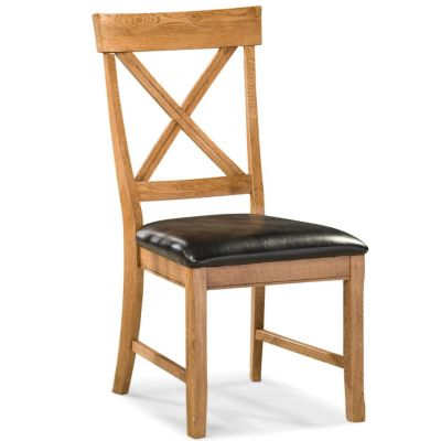 Intercon Family Dining X-Back Side Chair