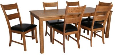 Intercon Family Dining Table & 6 Side Chairs