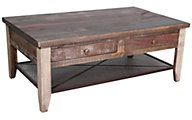 Int'l Furniture Antique Solid Wood Coffee Table