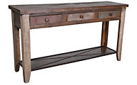 Int'l Furniture Antique Collection Solid Wood Sofa Table