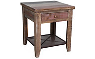 Int'l Furniture Antique Collection Solid Wood End Table