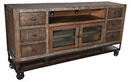 Int'l Furniture Urban Gold 76-Inch TV Stand