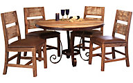 Int'l Furniture Antique Collection Table & 4 Chairs