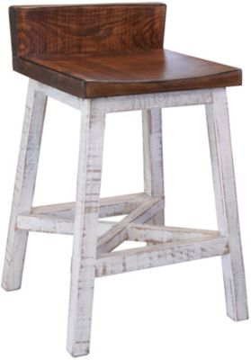 Int'l Furniture Pueblo White Counter Stool