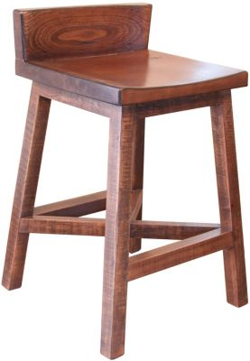 Int'l Furniture Pueblo Brown Counter Stool