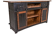 Int'l Furniture Pueblo Black Bar