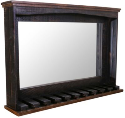 Int'l Furniture Pueblo Black Bar Mirror