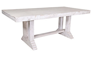 Int'l Furniture Terra White Farmhouse Table