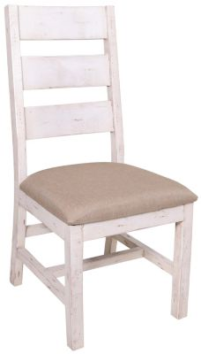 Int'l Furniture Terra White Side Chair