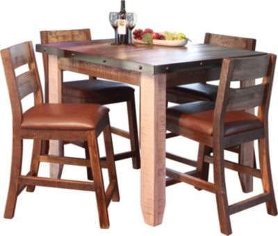 Int'l Furniture Antique Collection 5-Piece Counter Dining Set