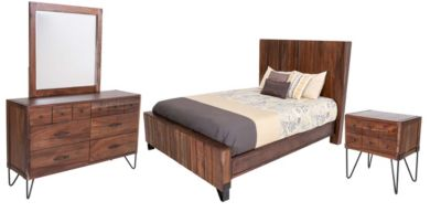 Int'l Furniture Taos 4-Piece Queen Set