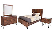 Int'l Furniture Taos 4-Piece King Set