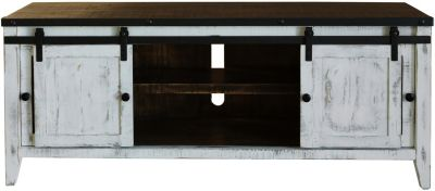 Int'l Furniture Antique Collection 68-Inch Barn Door TV Stand