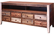 Int'l Furniture Antique Collection 8 Drawer TV Stand