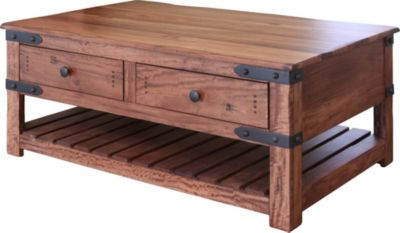 Int'l Furniture Parota Coffee Table