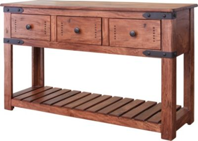 Int'l Furniture Parota Sofa Table